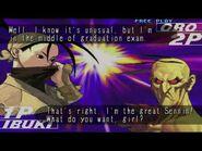 Ibuki Oro dialog Third Strike