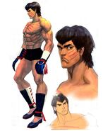 SFIV PC Concept Art Fei Long 03