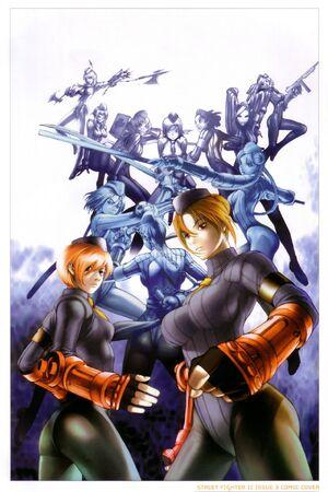 Dolls artwork - Street Fighter II 3 B UDON comic - alt cover.jpg