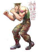 SFIV PC Concept Art Guile 03