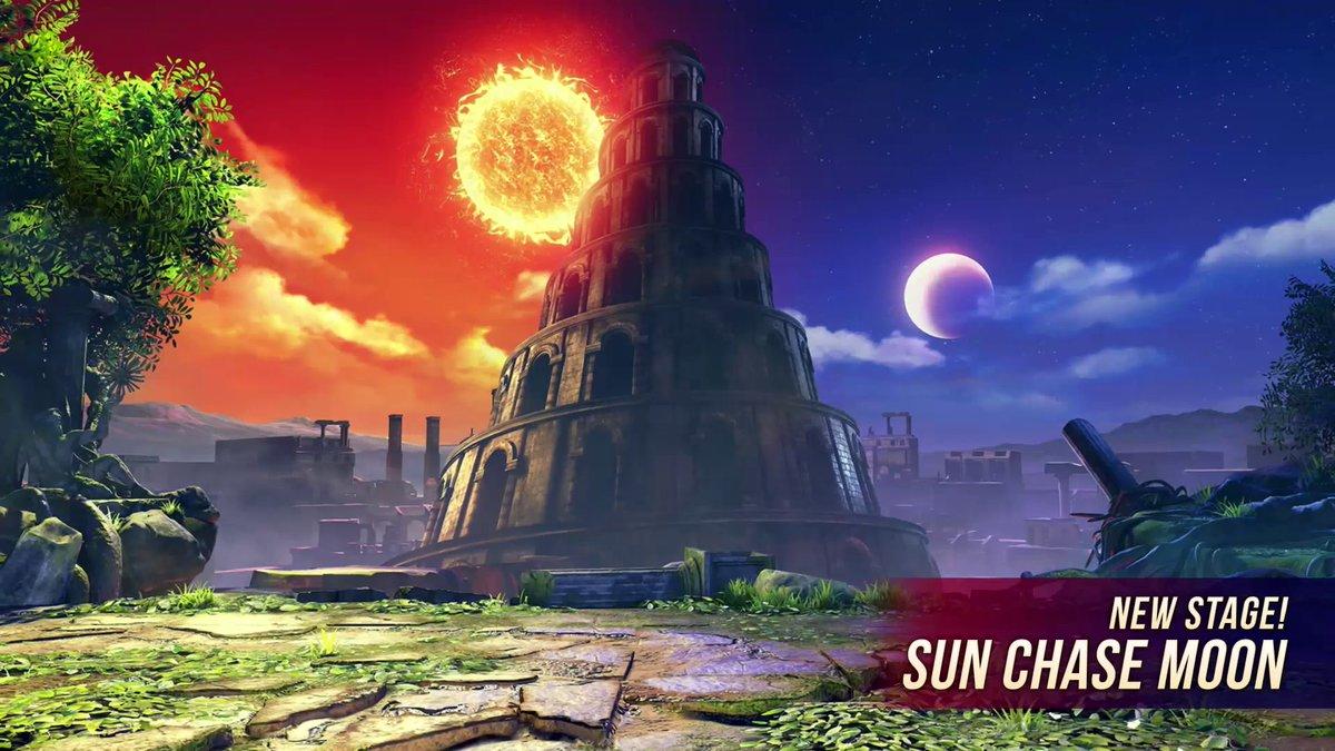 Sun Chase Moon