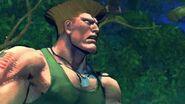 Super Street Fighter IV AE - Guile's Alternate Rival Cutscene English Ver