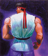 SFII-Ryu back