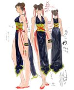 SFIV PC Concept Art Chun Li 05