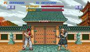 Pantalla Street Fighter I