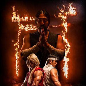 Street Fighter -- Assasins's Fist - póster promocional oficial - Ken & Ryu.jpg