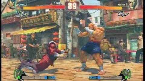 Street Fighter 4 All Focus Attacks