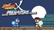 Street Fighter × Mega Man Boss Order Starter Guide