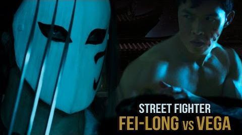 Fei-Long vs Vega: Enter The Dragon