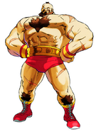 MvCapcom - Clash of Super Heroes - Zangief artwork