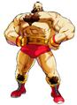 MvCapcom - Clash of Super Heroes - Zangief artwork