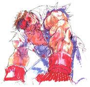 SFIII NG-Ryu defeat
