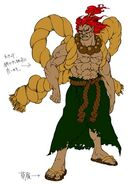 SFIV PC Concept Art Gouki 03