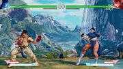 Forgotten Waterfall Ryu vs Chun-Li.jpg