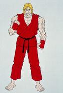 Complete File Street Fighter II-Ken art