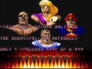 Street Fighter II' - Vega Ending