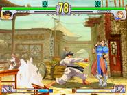 SFIII3 Makoto vs Chun-Li