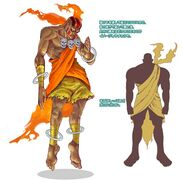 SFIV PC Concept Art Dhalsim 07
