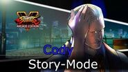 Street Fighter V Arcade Edition - Cody Story Mode (Cutscenes Only)