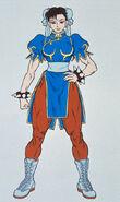 Complete File Street Fighter II-Chun-Li art