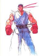 SFIII NG-Ryu win