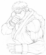 SSFII-Ryu intro concept-1