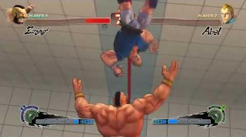 Super Street Fighter 4 - Zangief Ultra 2 Siberian Blizzard