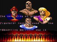 Street Fighter II' - Sagat Ending