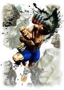 Super Street Fighter IV-Sagat