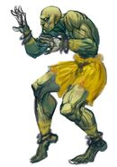 SFIV PC Concept Art Dhalsim 04
