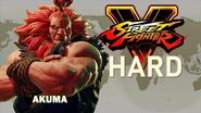 Street Fighter V - Akuma Arcade Mode (HARD)