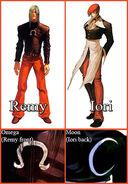 Remy iori symbols