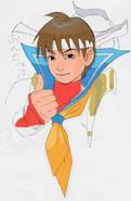 Akiman-Sakura thumbs up