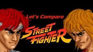 Let's Compare ( Street Fighter )