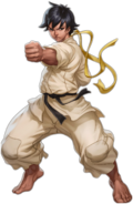 Makoto SFIII3rdStrike-Online Edition artwork