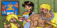 Street Fighter II - Dhalsim's ending