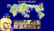 SFII-THF Arcade mode