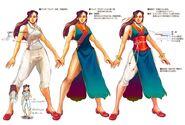 SFIV PC Concept Art Chun Li 03