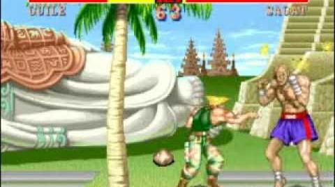 Guile's Invisible Throw