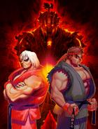 Ultra-streetfighter2-akuma-evilryu-violentken-poster