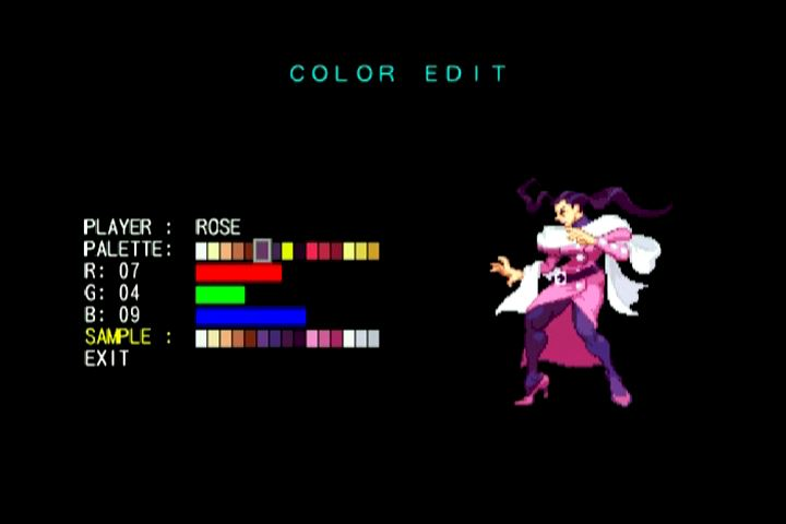 Color Edit Mode