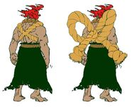 SFIV PC Concept Art Gouki 04