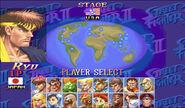 SSFII Turbo Arcade Mode