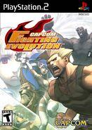 Capcom Fighting Evolution (PS2 - cubierta eeuu)
