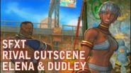 SFXT Elena & Dudley Rival Battle Cutscene