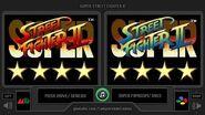 4★ Super Street Fighter II (Sega Genesis vs SNES) Side by Side Comparison (Dual Longplay ?)
