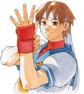 Rival School-Sakura