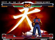 Akuma's Raging Demon in SvC Chaos.