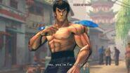Street Fighter IV - Fei Long's Rival Cutscene English Ver