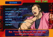 Street Fighter Alpha 3 PlayStation Story Screen